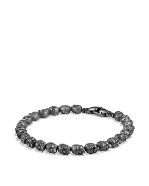 David Yurman | Black Spiritual Beads Skull Bracelet for Men | Lyst