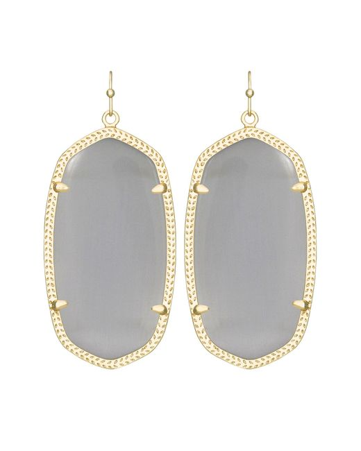 Kendra Scott | Metallic Danielle Earrings | Lyst