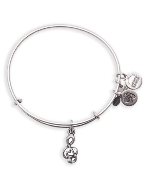 ALEX AND ANI | Metallic Sweet Melody Expandable Wire Bangle, Charity By Design Collection | Lyst
