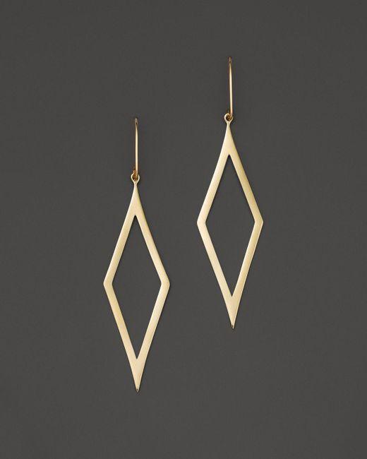 Lana Jewelry | Metallic 14k Yellow Gold Small Aura Earrings | Lyst