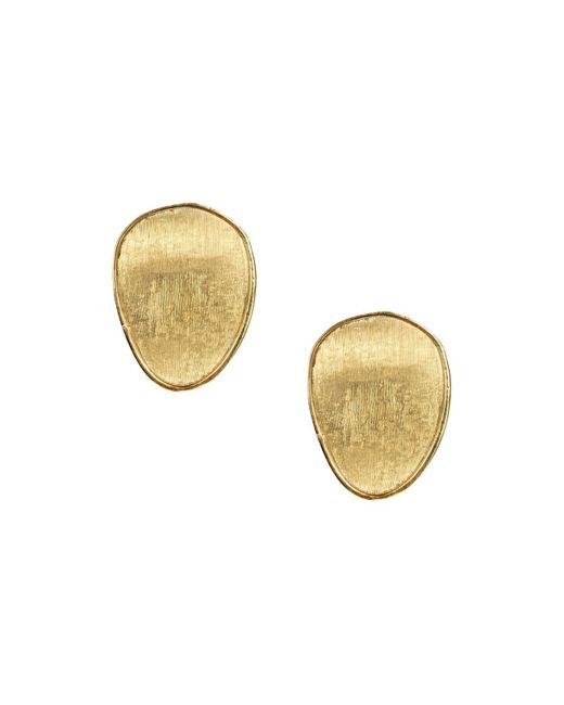 Marco Bicego | Metallic 18k Yellow Gold Lunaria Stud Earrings | Lyst