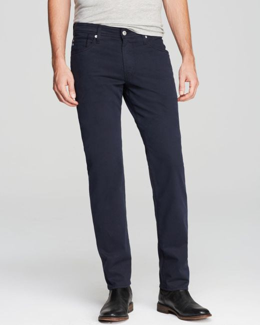 AG Jeans | Blue Graduate New Tapered Fit Twill Pants for Men | Lyst