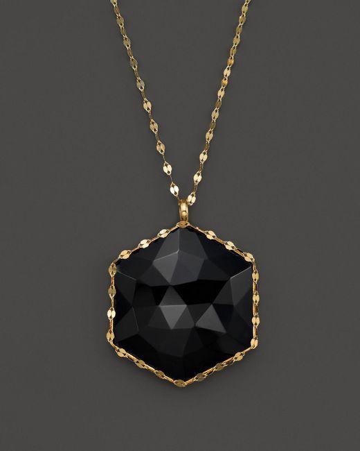 "Lana Jewelry | Metallic 14k Yellow Gold Rosecut Dusk Pendant Necklace, 18"" | Lyst"
