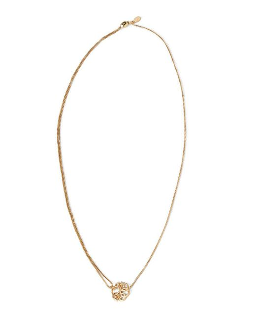 """ALEX AND ANI   Metallic Precious Metals Symbolic Path Of Life Pull Chain Necklace, 10-24""""   Lyst"""