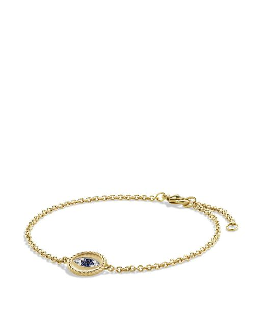David Yurman | Metallic Diamonds & Black Diamonds In Gold | Lyst