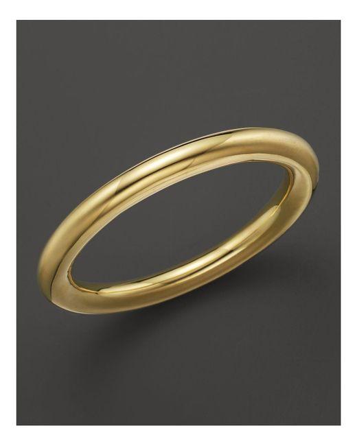 Ippolita | Metallic 18k Gold Glamazon Large Tube Bangle | Lyst