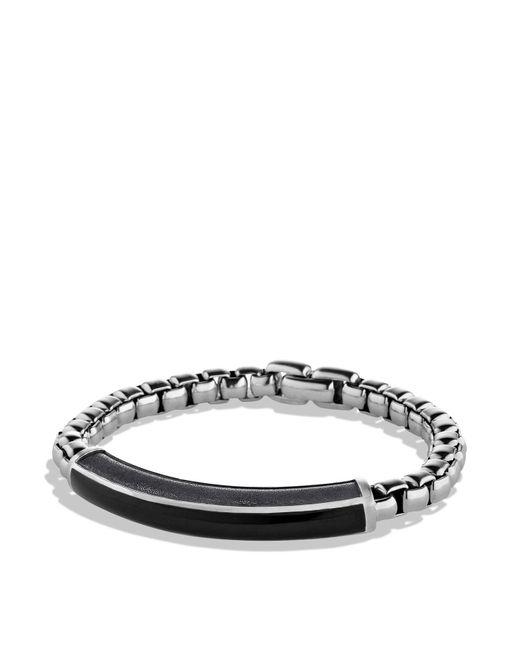 David Yurman | Metallic Exotic Stone Id Bracelet With Black Onyx for Men | Lyst
