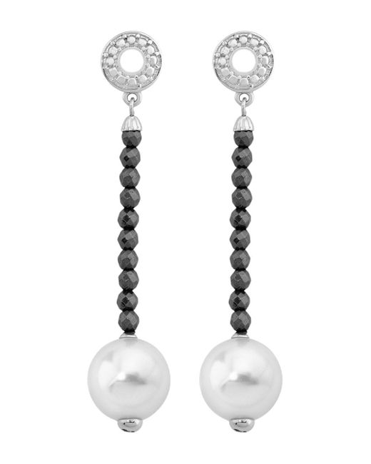 Majorica - Multicolor Simulated Pearl Drop Earrings - Lyst