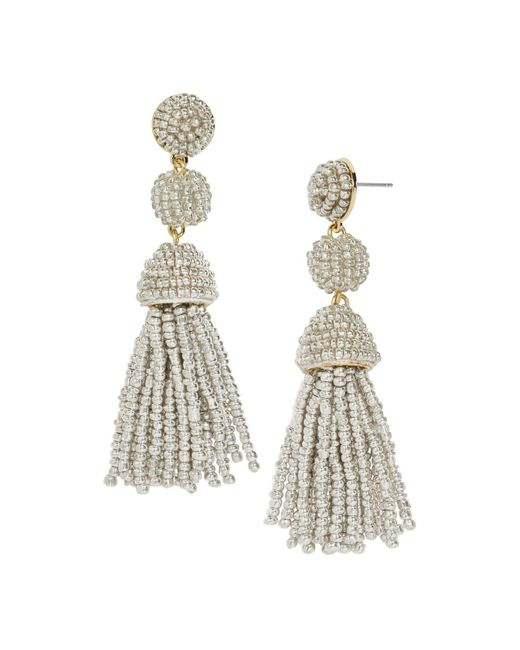 BaubleBar - Metallic Mini Granita Drop Earrings - Lyst