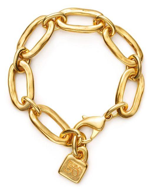 Uno De 50   Metallic Awesome Bracelet   Lyst