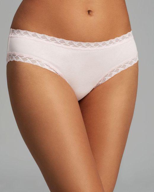 Natori   Pink Bliss Girl Brief #156058   Lyst