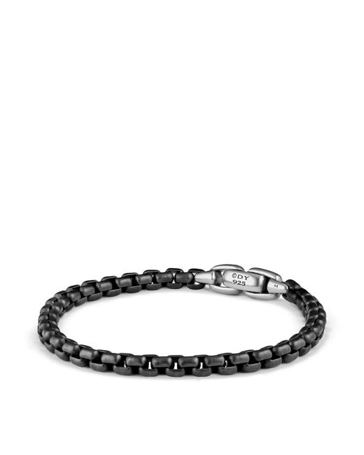 David Yurman | Black Box Chain Bracelet for Men | Lyst