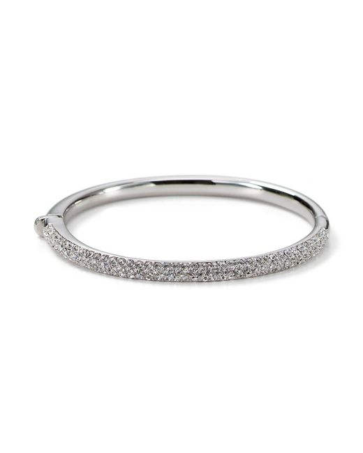 Nadri | Metallic Triple Row Bangle | Lyst