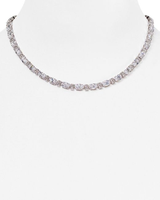 Nadri | Metallic All Around Collar Necklace, 16"