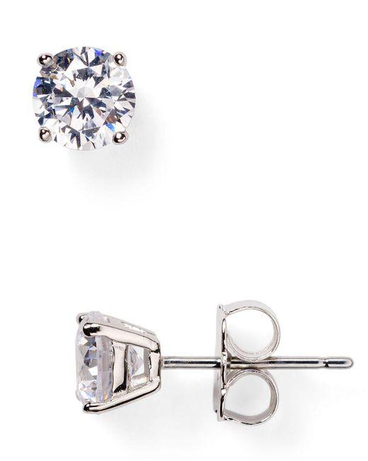 Nadri | Metallic Stud Earrings | Lyst