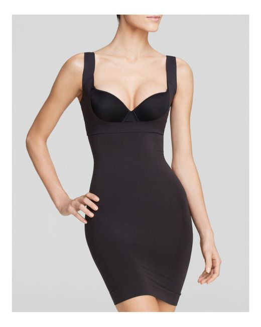 Spanx | Black Shape My Day Open-bust Slip | Lyst