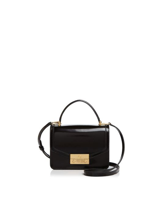 Tory Burch - Black Juliette Calf Leather Crossbody - Lyst