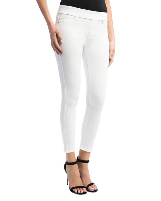 Liverpool Jeans Company - Sienna Pull-on Legging Jeans In Bright White - Lyst