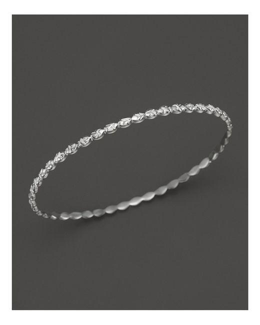 Ippolita | Metallic Lollipop® Sterling Silver Textured Bangle | Lyst
