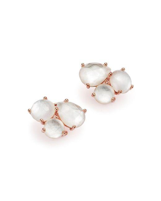 Ippolita | Metallic Rock Candy Rose Cluster Stud Earrings | Lyst