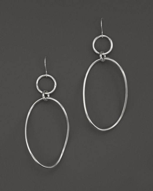 Ippolita | Metallic Glamazon Sterling Silver Wavy Snowman Earrings | Lyst
