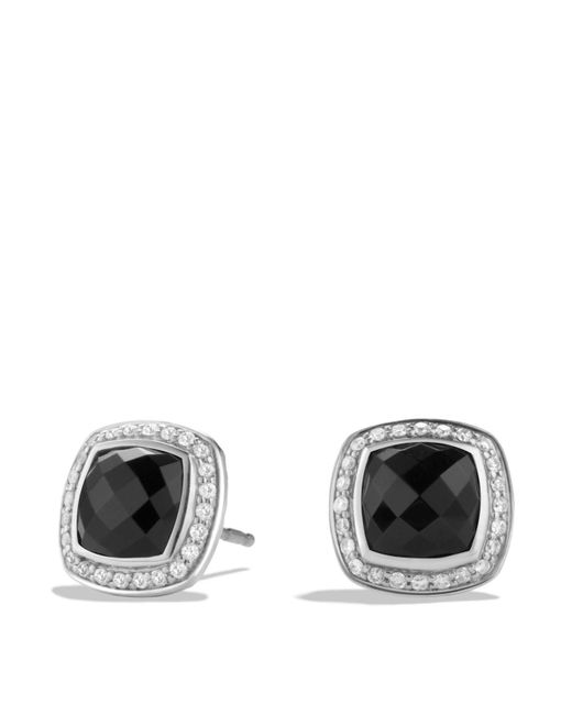 David Yurman | Albion Earrings With Black Onyx And Diamonds | Lyst