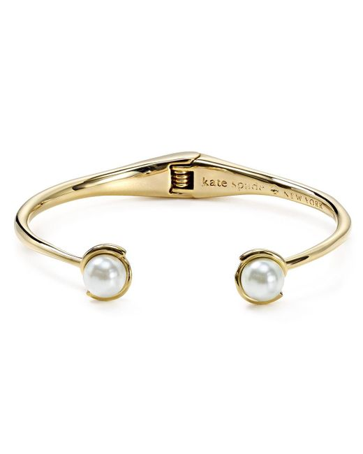 kate spade new york | Natural Dainty Sparklers Simulated Pearl Cuff | Lyst