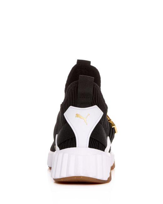 Puma Defy Varsity Knit Sneakers iGgeUmxrXM