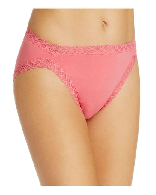 Natori | Pink Bliss French Cut Bikini | Lyst