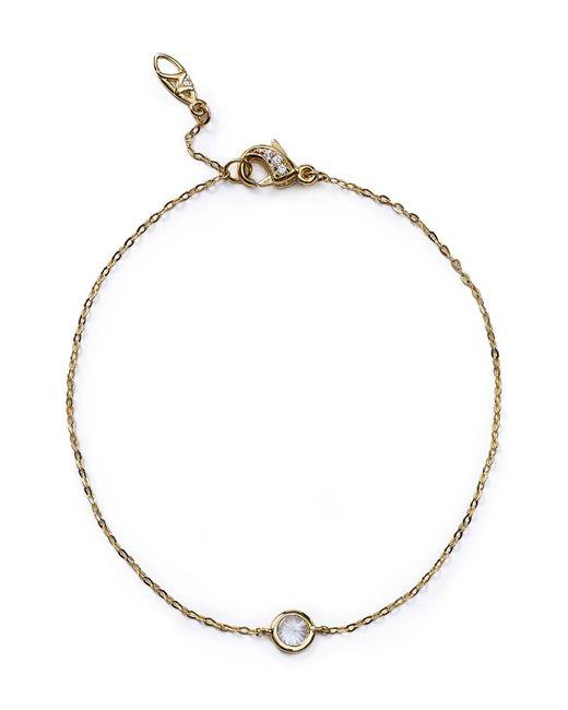 Nadri | Metallic Cubic Zirconia Bracelet | Lyst