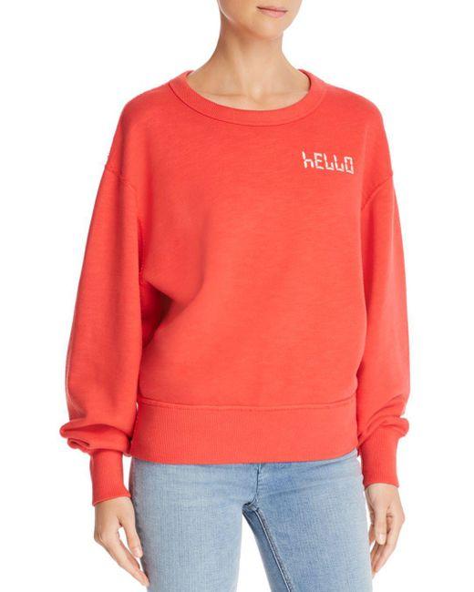 Rag & Bone - Multicolor Hello Sweatshirt - Lyst
