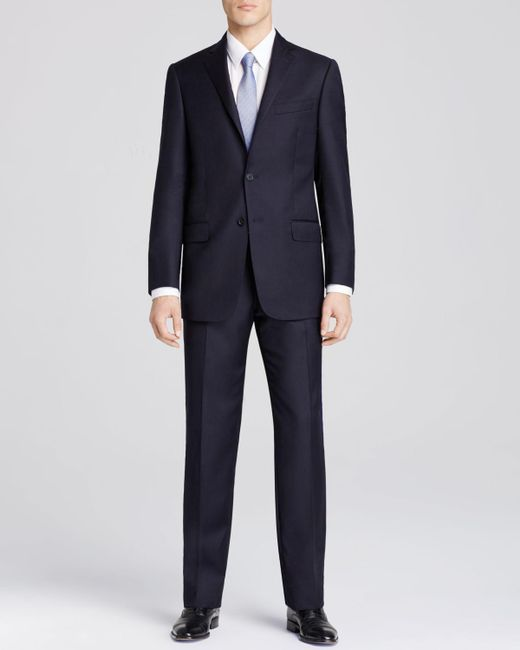 Hart Schaffner Marx | Blue Platinum Label New York Solid Classic Fit Suit - Bloomingdale's Exclusive for Men | Lyst