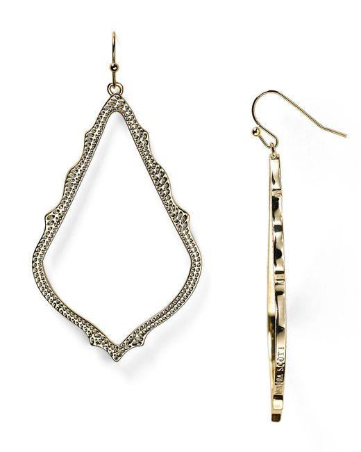 Kendra Scott | Metallic Sophee Earrings | Lyst