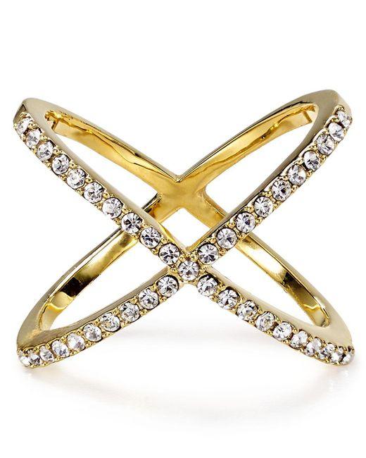 BaubleBar | Metallic Crystal Mason Ring | Lyst