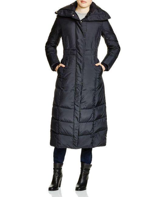 Cole Haan   Black Down Maxi Coat   Lyst
