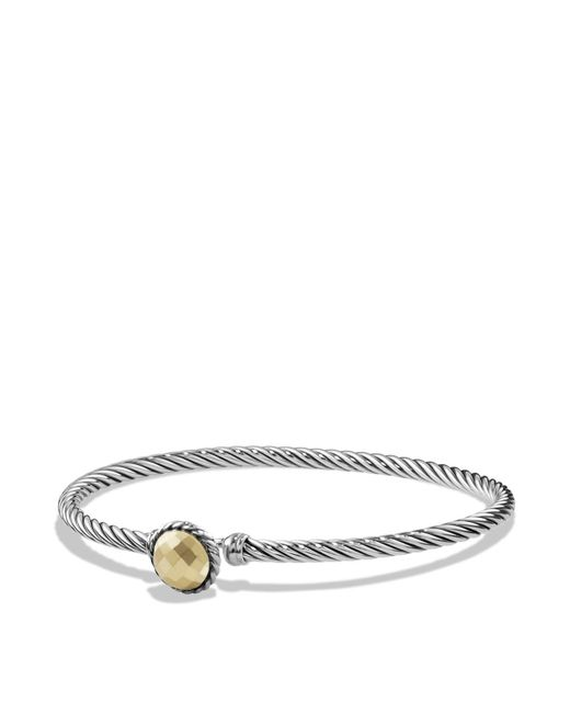 David Yurman | Metallic Châtelaine Bracelet With Gold Dome And 18k Gold | Lyst