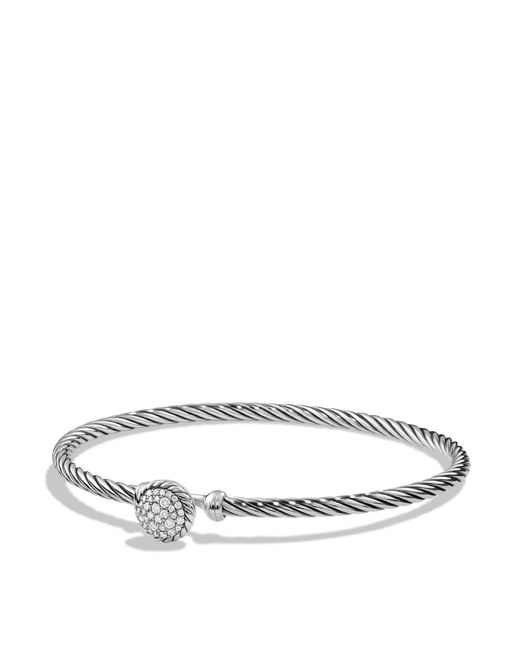 David Yurman | Metallic Châtelaine Bracelet With Diamonds | Lyst