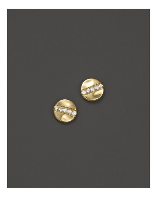 Ippolita | Metallic 18k Glamazon® Stardust Stud Earrings With Diamonds | Lyst