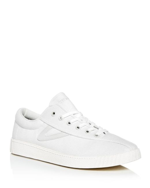 Tretorn - White Men's Nylite Plus Canvas Lace Up Sneakers for Men - Lyst