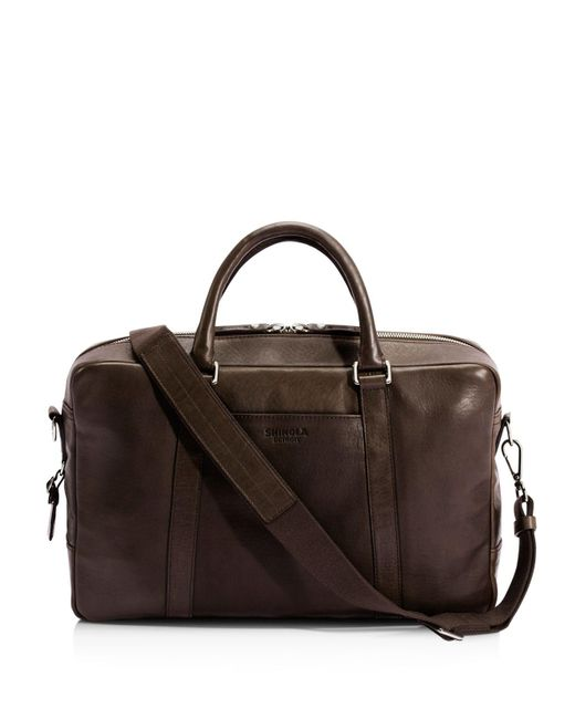 Shinola | Brown Slim Briefcase for Men | Lyst