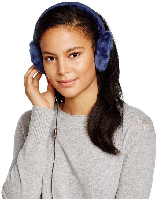 UGG | Blue Australia Classic Wired Earmuffs | Lyst