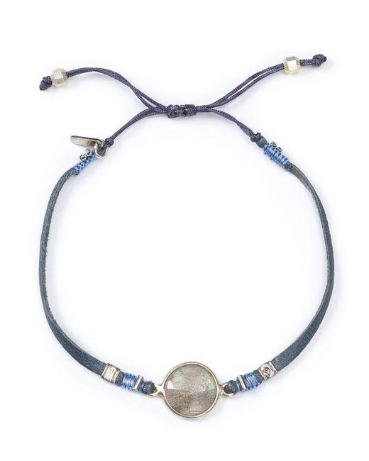 Chan Luu | Gray Adjustable Slider Bracelet | Lyst