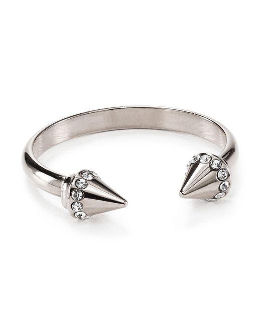 Vita Fede   Metallic Ultra Mini Titan Crystal Ring   Lyst