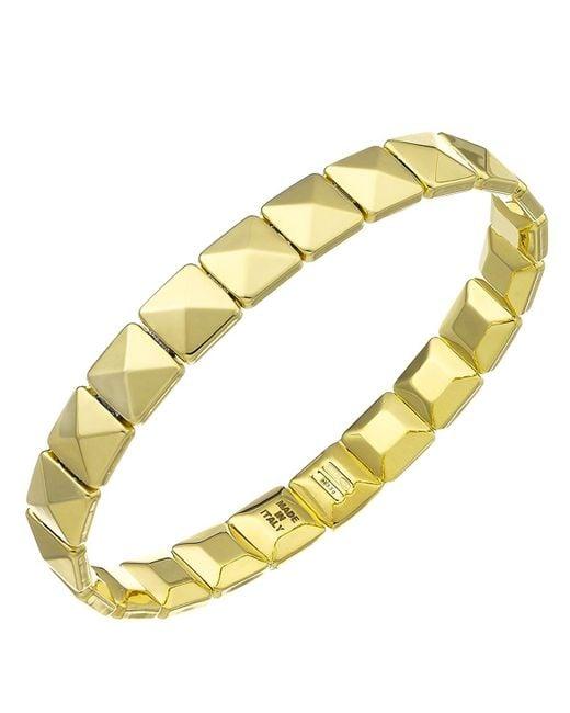 Chimento | Metallic 18k Yellow Gold Armillas Collection Square Link Bracelet | Lyst