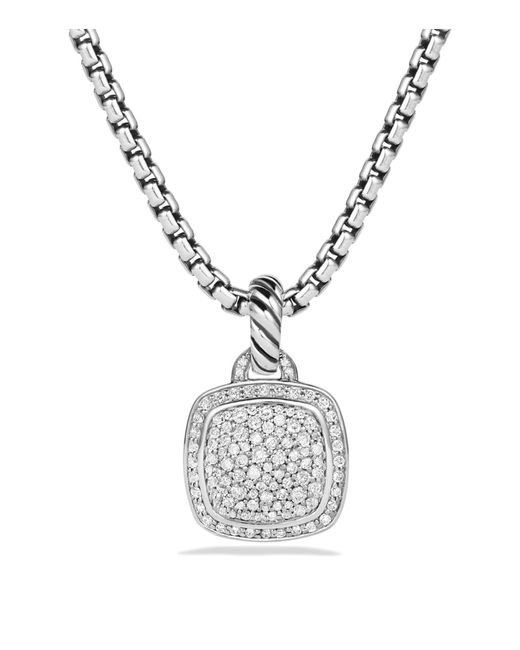 David Yurman | Metallic Albion Pendant With Diamonds | Lyst