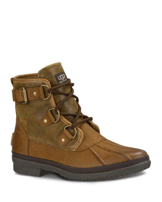 UGG | Brown Ugg Cecile Waterproof Boot | Lyst