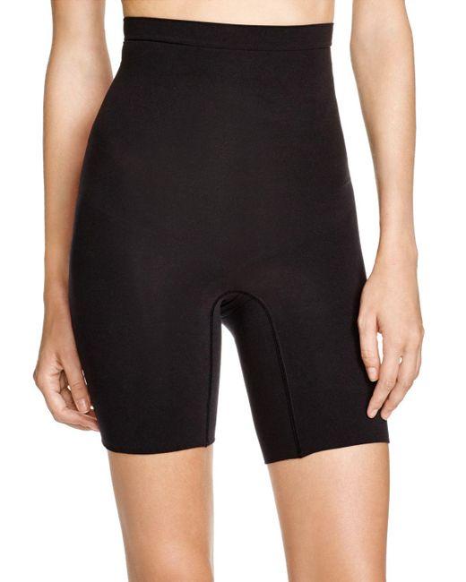 Spanx | Black Higher Power Shorts #2745 | Lyst