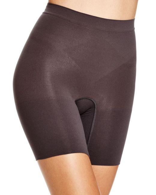 Spanx   Black Power Shorts #2744   Lyst