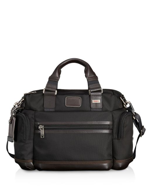 Tumi   Black Brooks Slim Briefcase for Men   Lyst