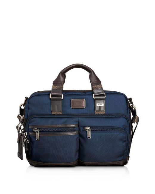 Tumi | Blue Andersen Slim Commuter Briefcase for Men | Lyst